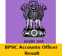 BPSC Accounts Officer Result