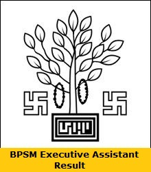 BPSM Executive Assistant Result