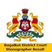 Bagalkot District Court Stenographer Result