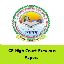CG High Court Previous Papers
