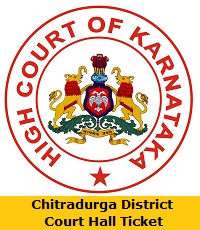 Chitradurga District Court Hall Ticket