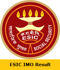ESIC IMO Result