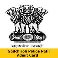 Gadchiroli Police Patil Admit Card