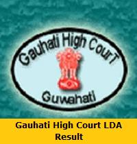 Gauhati High Court LDA Result
