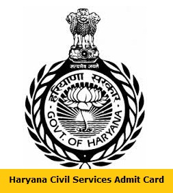 Haryana Civil Services Admit Card