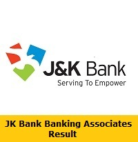 JK Bank Banking Associates Result