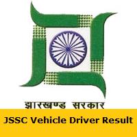 JSSC Vehicle Driver Result