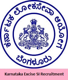 Karnataka Excise SI Recruitment
