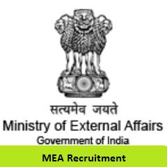 MEA Recruitment