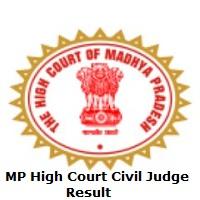 MP High Court Civil Judge Result