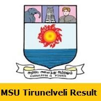 MSU Tirunelveli Result