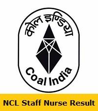 NCL Staff Nurse Result
