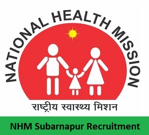 NHM Subarnapur Recruitment