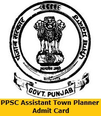 PPSC Assistant Town Planner Admit Card