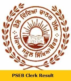 PSEB Clerk Result