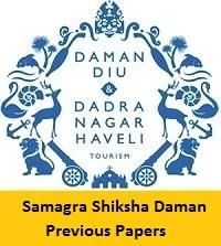 Samagra Shiksha Daman Previous Papers
