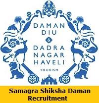 Samagra Shiksha Daman Recruitment