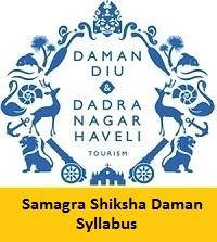 Samagra Shiksha Daman Syllabus
