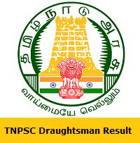 TNPSC Draughtsman Result