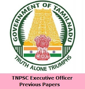 TNPSC Executive Officer Previous Papers