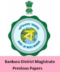 Bankura District Magistrate Previous Papers