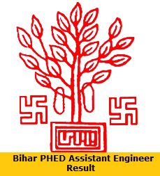 Bihar PHED Assistant Engineer Result
