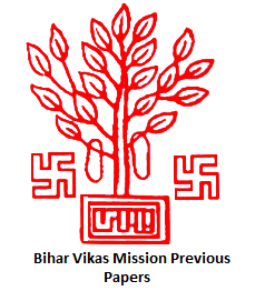 Bihar Vikas Mission Previous Papers