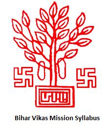 Bihar Vikas Mission Syllabus