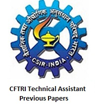 CFTRI Technical Assistant Previous Papers