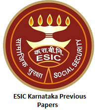 ESIC Karnataka Previous Papers