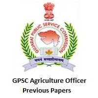 GPSC Agriculture Officer Previous Papers