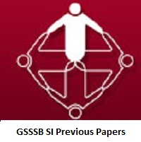 GSSSB SI Previous Papers