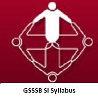 GSSSB SI Syllabus