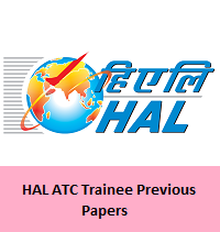 HAL ATC Trainee Previous Papers