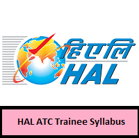 HAL ATC Trainee Syllabus