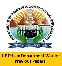 HP Prison Department Warder Previous Papers