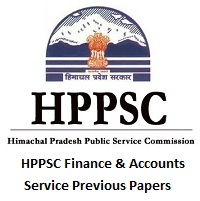 HPPSC Finance & Accounts Service Previous Papers
