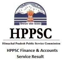 HPPSCFinance & Accounts Service Result