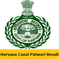 Haryana Canal Patwari Result