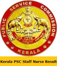 Kerala PSC Staff Nurse Result