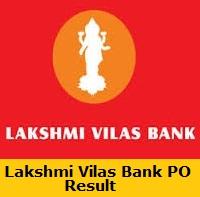 Lakshmi Vilas Bank PO Result
