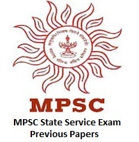 MPSC State Service Exam Previous Papers