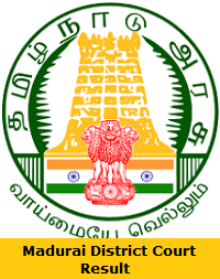 Madurai District Court Result