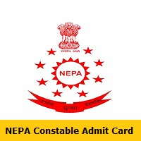 NEPA Constable Admit Card