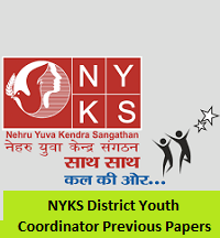 NYKS District Youth Coordinator Previous Papers