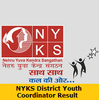 NYKS District Youth Coordinator Result