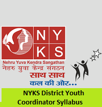 NYKS District Youth Coordinator Syllabus
