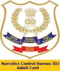 Narcotics Control Bureau JIO Admit Card
