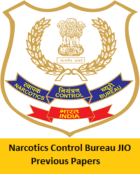 Narcotics Control Bureau JIO Previous Papers