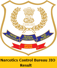 Narcotics Control Bureau JIO Result